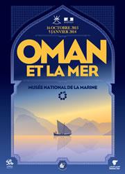 """Affiche de l'exposition """"Oman et la Mer"""""""