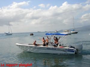Bateau calypso