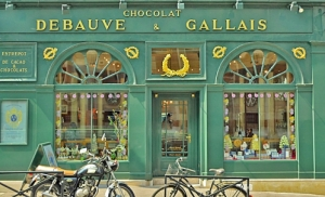 Une chocolaterie Debeauve existant toujours à Paris