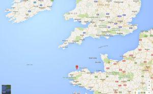 L'île de Batz se trouve juste au dessus de la Cornouailles, à l'entrée de la Manche.
