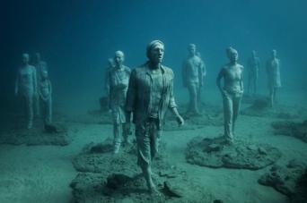 Le premier musée sous-marin en Europe prend forme à Lanzarote.